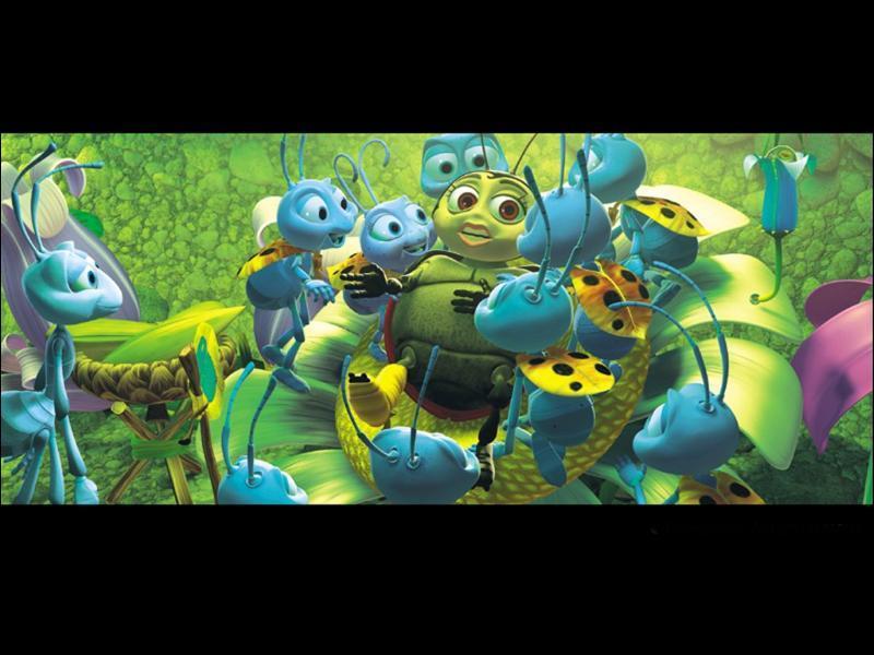 'Le maladroit Tilt a détruit la récolte de la saison de sa fourmilière. ' Mais de quel film s'agit-il ?