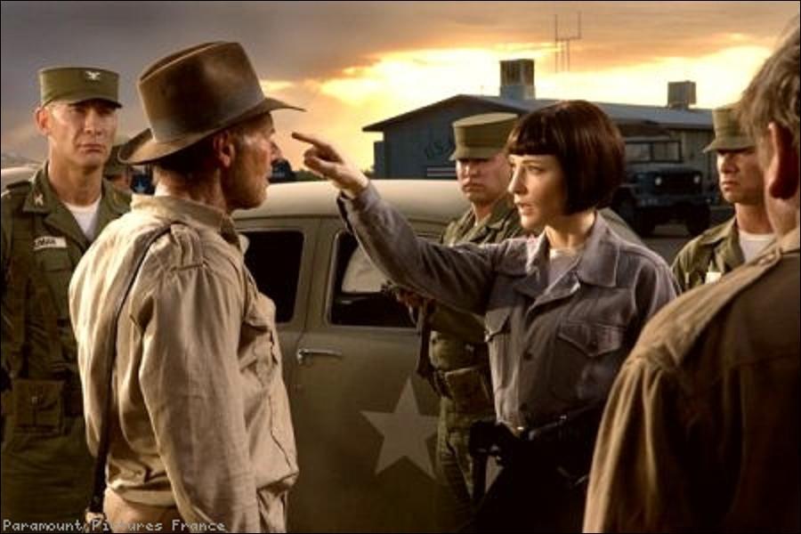 A quel type de guerre se situe l'action d'Indiana Jones et le royaume du crâne de cristal ?