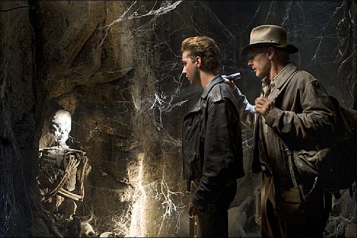De quel conquistador Indy trouve le cadavre momifié dans Indiana Jones et le royaume du crâne de cristal ?
