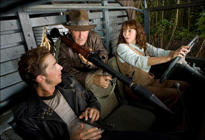 Dans quel pays Indy et son fils vont dans Indiana Jones et le royaume du crâne de cristal ?