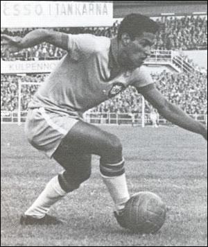 Ailier incomparable du dribble et du centre, héros des coupes du monde 1958 et 1962... c'est ?