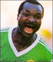Il fut l'idole de tout le continent africain lors de l'édition italienne de 1990, c'est ?