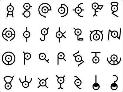 Quel est le dernier symbole ?