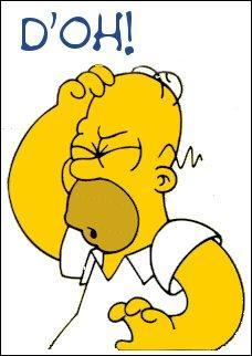 Quelle est l'expression préférée d'Homer Simpson ?
