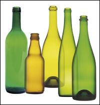 Combien de kilogrammes de verre recyclé obtient-on avec un kilogramme de verre ?