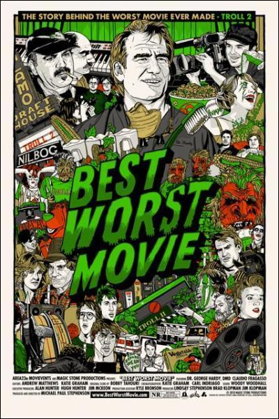 Quel film, souvent consideré comme le pire du monde, a eu droit à un documentaire racontant entre autre le destin de ses principaux protagonistes ?