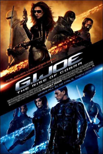 Quel monument est entiérement détruit par les Nanobots dans le film GI Joe ?