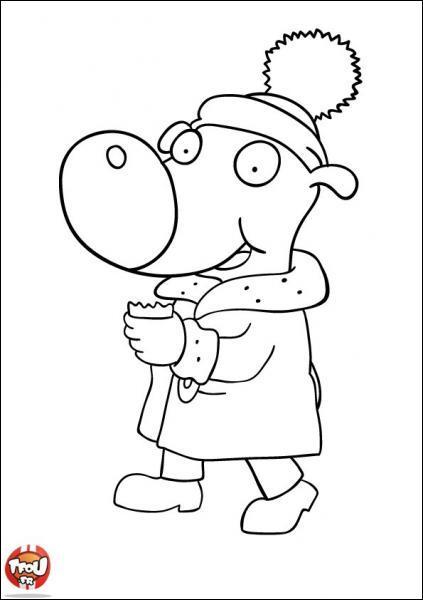 A quel dessin animé appartient ce personnage ?