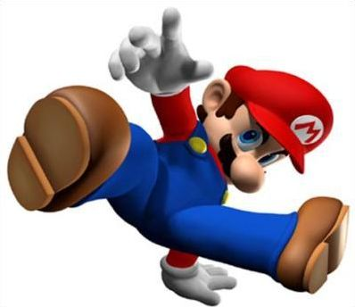 Mario personnages et objets de New Super Mario Bros Ds et Wii, et Mario Kart Ds (n°1)