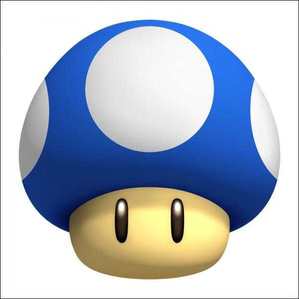 À quoi sert ce champignon bleu ?