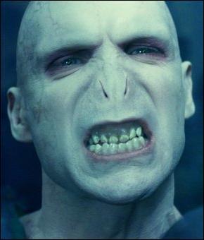 Et enfin Lord Voldemort alias Tom Jedusor est ...