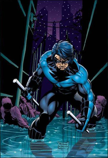 Quel personnage incarne Nightwing ?