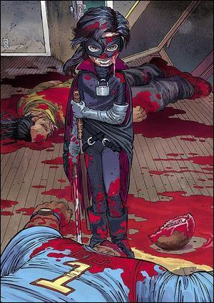 Dans la BD Kick-Ass, quelle drogue prend Hit-Girl croyant que c'est un produit lui donnant une force surhumaine ?