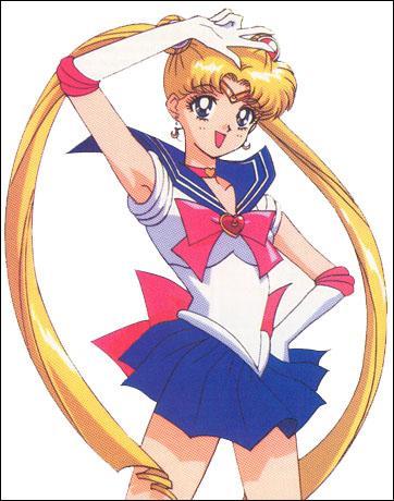 Quelle est la formule prononcé par Sailor Moon quand elle se transforme ?