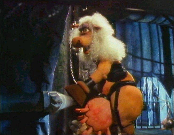 Quel personnage de Meet the Feebles tourne des films porno clandestin dans les bas-fond du théâtre ?