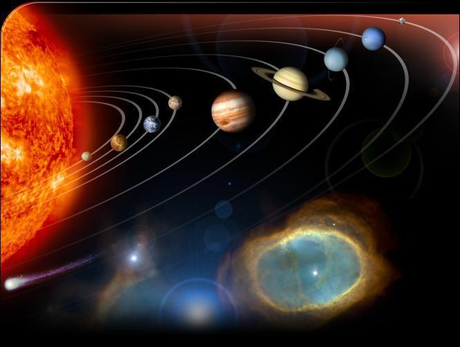 Dans l'ordre croissant d'éloignement par rapport au Soleil, Jupiter est :