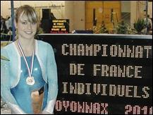 Comment s'appelle la vice-championne de France ?
