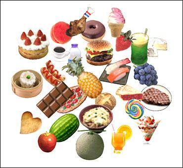 Après avoir mangé du salami, du canard, de la salade, une banane, que faudra-t-il prendre comme dessert ?