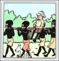 Tintin a eu un accident, qu'a-t-il percuté ?