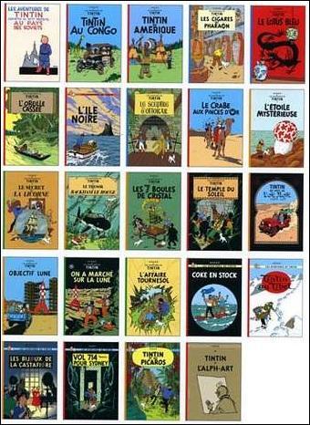 Quel(s) tome(s) n'est(ne sont) pas une suite de Tintin au Congo ?