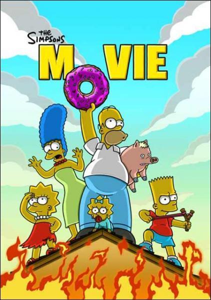 Combien d'année l'équipe des Simpson a mis pour finaliser le film ?