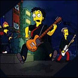 Quel groupe de rock est englouti dans le lac de Springfield ?