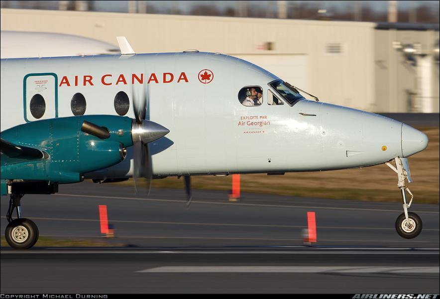 Par quelle compagnie est exploité cet avion de Air Canada ?