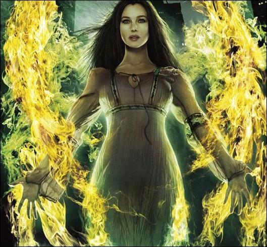 Dans quoi Blake a-t-il enfermé la diabolique Morgane et ses morganiens ?