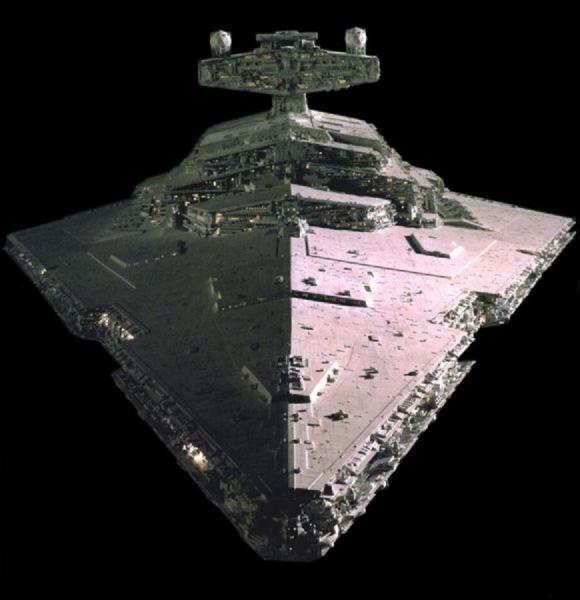 Quel vaisseau de la flotte rebelle est l'équivalant du destroyer impérial ?