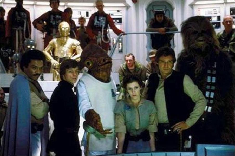 A l'origine du scénario du retour du Jedi, l'un des héros devait mourir, lequel ?