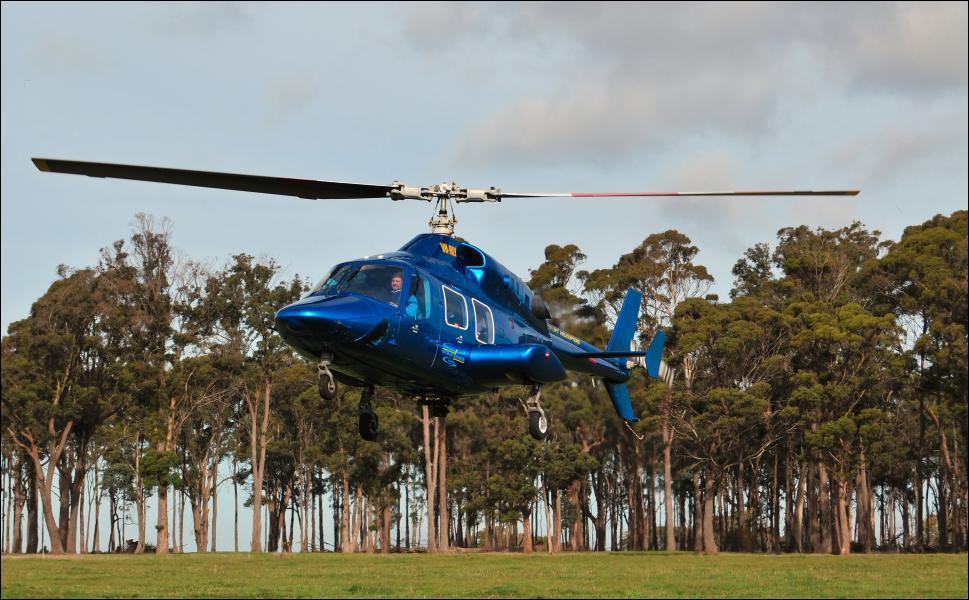 L'hélicoptère de supercoptére aa servi pour un épisode.