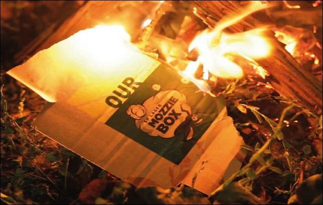 Des cartons brûlent. De quelle classe de feu s'agit-il ?