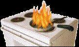 La friteuse est en flamme. De quelle classe de feu s'agit-il ?