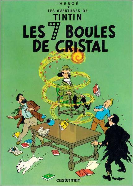 Au début de l'histoire, comment Tintin prend connaissance du retour de l'expédition Sanders-Hardmuth ?
