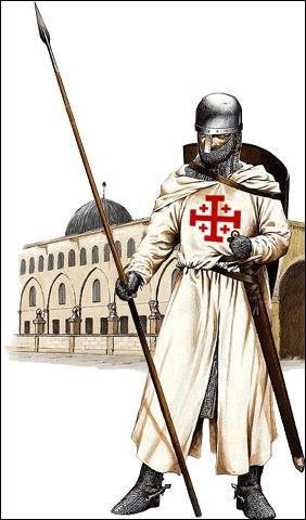 Qu'est-ce qui est promis aux chevaliers partis combattre ?