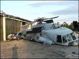 Terrible accident d'hélicoptère dans un cimetière belge !