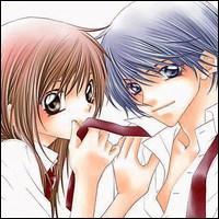 Nous pouvons assister aux débats amoureux de ce couple dans quel manga d'Aya Oda ?
