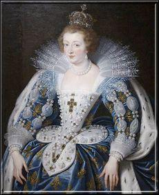 À Bordeaux le 28 novembre 1615, Louis XIII s'unit à la fille du roi d'Espagne. Comment s'appelle t-elle ?