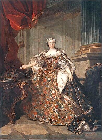 Elle a 22 ans, il a 15 ans, Louis XV l'épouse le 4 septembre 1725 à Strasbourg. De qui s'agit-il ?