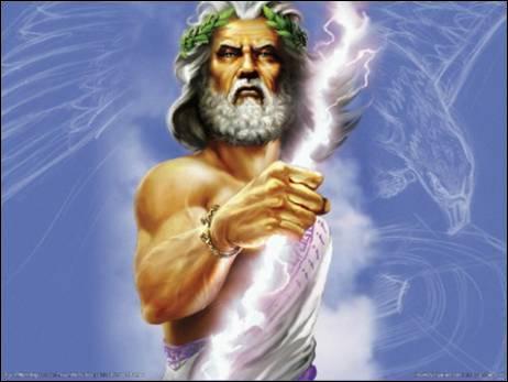 Pourquoi Zeus est-il le dieu des dieux ?