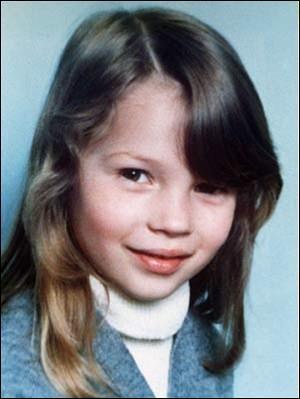 Lorsqu'elle était à l'école primaire. Qui est-ce ?