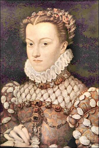 Elle est l'épouse de Charles IX.