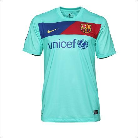 Voici un maillot original d'une grande équipe Européenne . Mais quelle est cette équipe ?