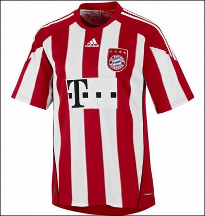Franck Ribéry portera cette année ce maillot...