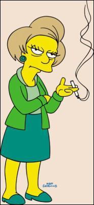 Avec qui madame Krapabelle a t'elle entretenue une relation dont seul Bart était au courant ?