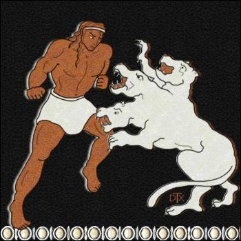 A qui appartiennent les deux ombres qui persistent à tourner autour d'Héraclès et qui arrivent même à l'étourdir ?