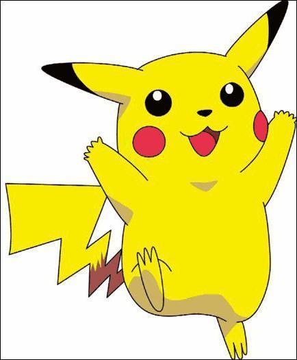 Dans quel jeu voit-on ce personnage jaune prénommé Pikachu ?