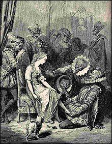 A cette époque, pour Charles Perrault en quoi était faite la pantoufle de Cendrillon ?