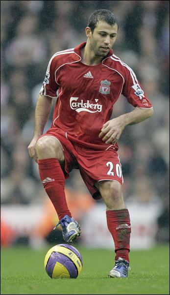 Quel club l'argentin Mascherano a rejoint en provenance de Liverpool ?