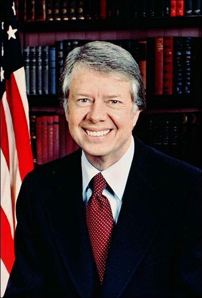 Quelles sont les dates du mandat du président Jimmy Carter ?